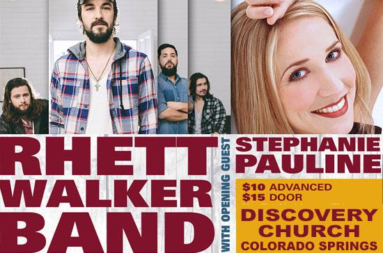Rhett Walker Band Benefit Concert